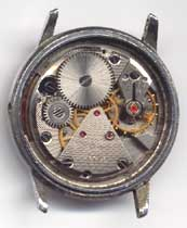 Nice movement in worn case
