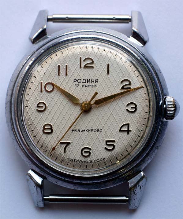 This one is also rare caliber rodina (poljot),based on 2409, but with